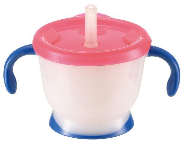 【淘氣寶寶】《日本 Richell 利其爾》第三代LC 吸管訓練杯150ml【藍海夢】