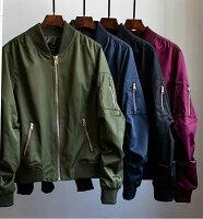 飛行外套推薦到大碼潮服《40-100公斤》飛行夾克 情侶款 男女款(黑)  預購商品7~15日就在大碼潮服推薦飛行外套