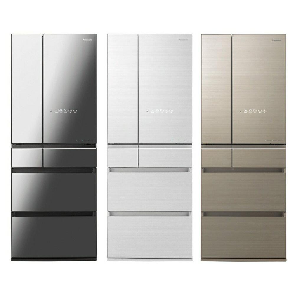 國際 Panasonic 600公升日製六門鏡面變頻冰箱 NR-F605HX