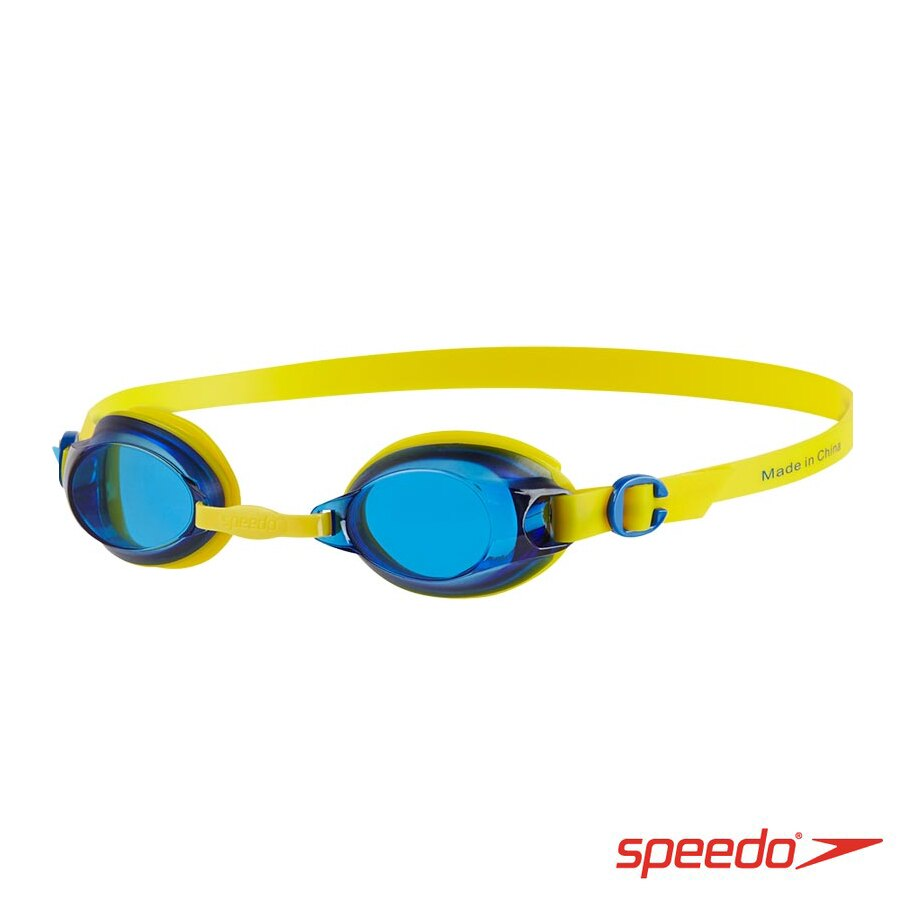 ║speedo║兒童泳鏡 Jet黃藍