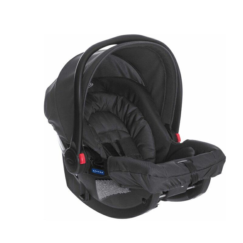 GRACO - 提籃系列嬰幼兒汽車安全座椅 SNUGRIDE (史瑞克黑)