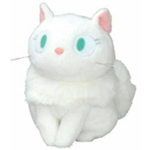 軟絨 沙包娃 手玉娃 M 白貓 LiLi 莉莉 魔女宅急便 宮崎駿 吉卜力 娃娃 布偶 玩偶 4974475687539 真愛日本