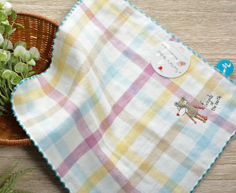日本今治 - KONTEX - Duo方巾(藍)《日本設計製造》《全館免運費》,純棉100%,觸感細緻質地柔軟,吸水性強,日本設計製造,天然水洗滌工法,不使用螢光染料,不添加染劑