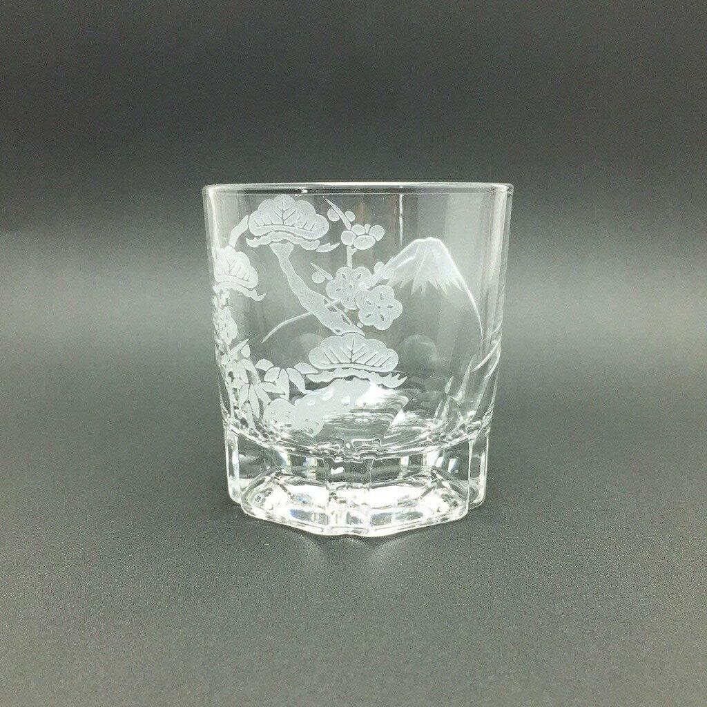 【預購】 日本進口『匠』齊藤広美製造 松竹梅 酒杯 富士山杯 匠手工製造 日本酒杯 日本製造 玻璃 【星野生活王】