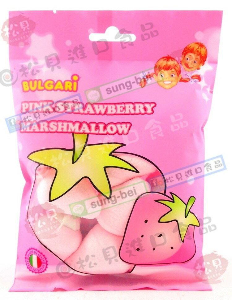 寶格麗草莓棉花糖105g【8006908008218】