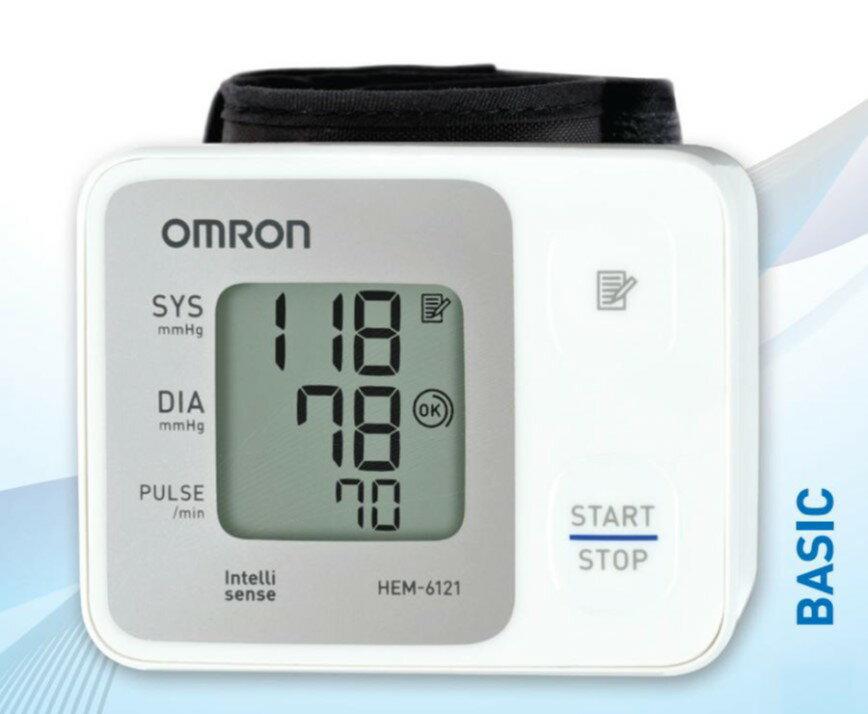 """【醫康生活家】""""歐姆龍"""" 手腕式血壓計 HEM-6121(網路不販售 價格僅供參考,歡迎來電諮詢)"""