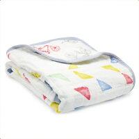 彌月寢具用品推薦到美國 Aden+Anais 純棉攜帶毯/冷氣毯/禮盒/彌月 彩色三角就在麗兒采家推薦彌月寢具用品