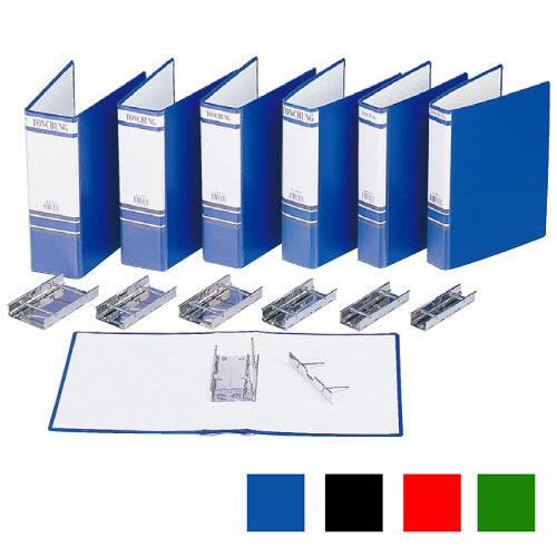 【同春牌】F330 藍色管型二孔夾/資料夾/檔案夾 A4