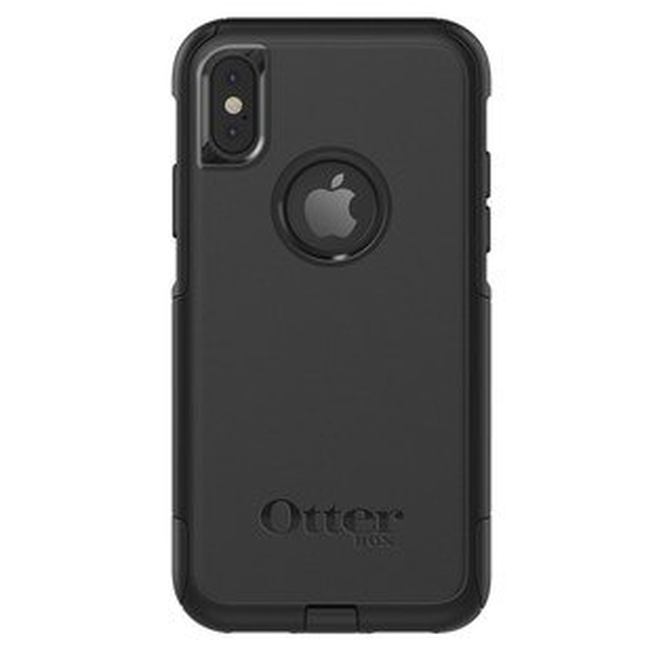 貝殼嚴選:【貝殼】『OtterBox』iPhoneXCommuterSeries通勤者系列-黑色