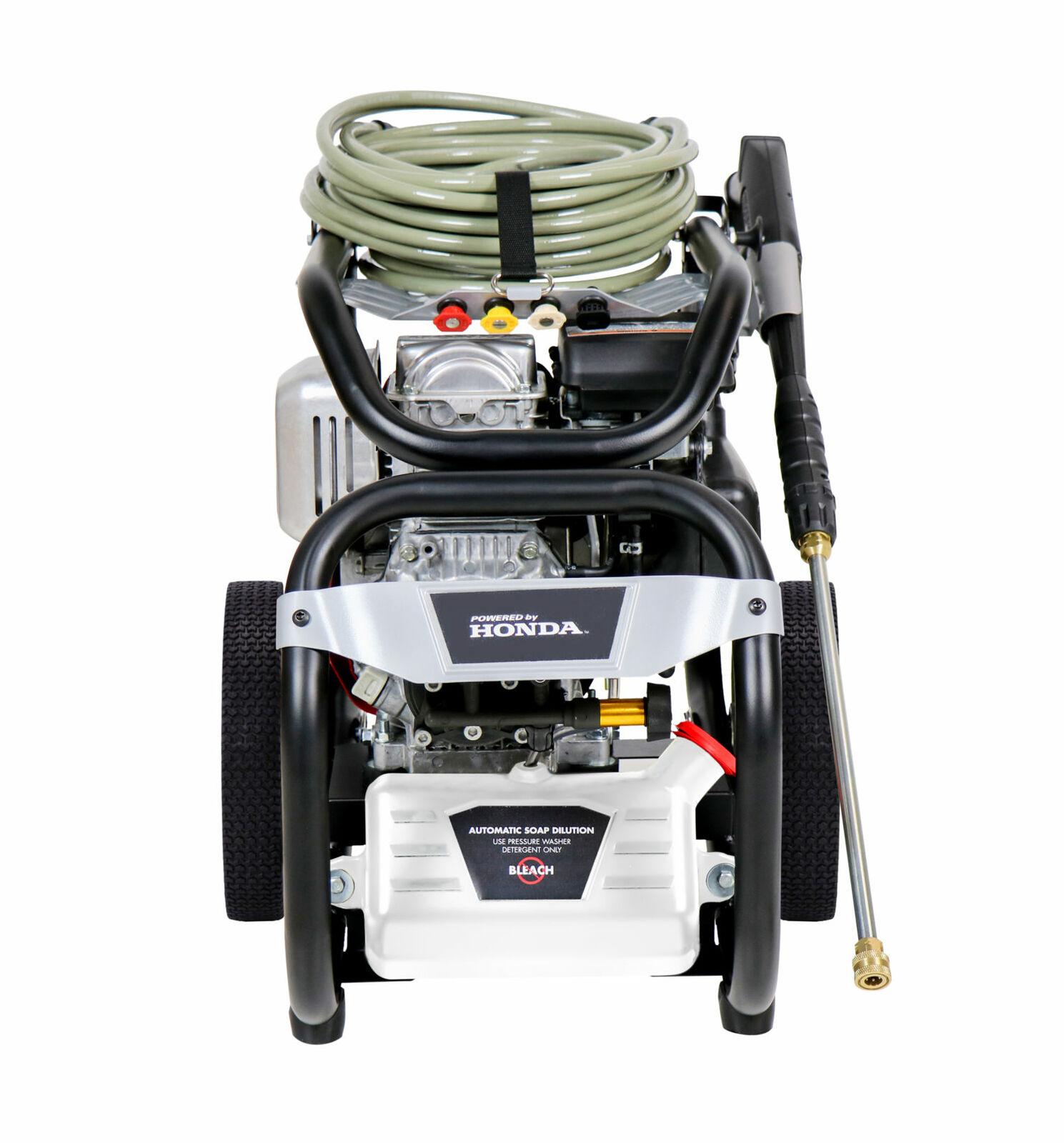 Simpson Megashot 3200 PSI 2 5 GPM Honda GC190 Engine Pressure Washer
