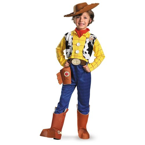 Toy Story - Woody Deluxe Child Costume 0