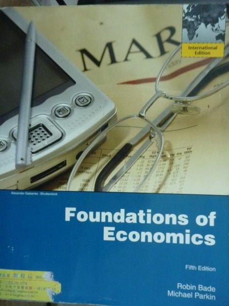 ~書寶 書T3/大學商學_QNW~Foundations of Economics_Bad
