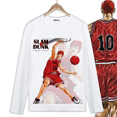 【憶童趣】動漫 灌籃高手 創意 長/短袖 上衣 T恤款