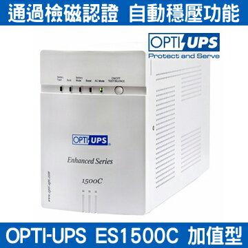 OPTI蓄源ES1500C在線互動式UPS1500VA110V不斷電系統