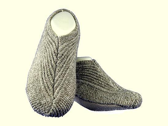 【日本進口】男用室內保暖毛襪拖鞋