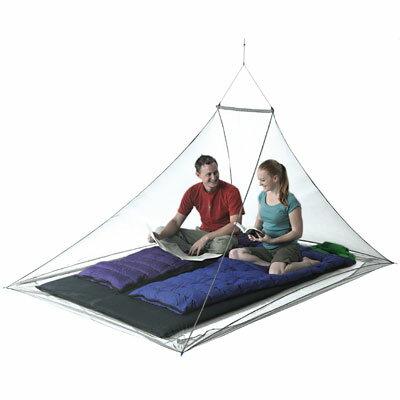 【露營趣】SeaToSummitSTSAMOSD雙人防蚊帳MosquitoPyramidNet防蚊網帳防蚊罩