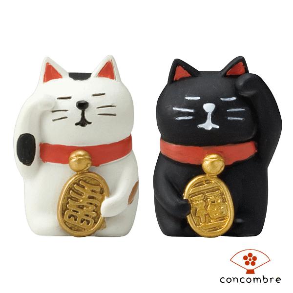 日本除厄黑貓擺飾