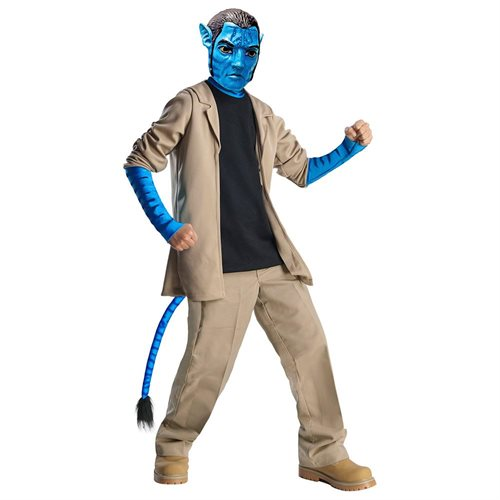 Boys Deluxe Avatar Jake Sully Halloween Costume 0