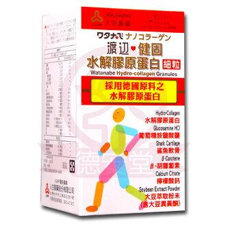 人生製藥 渡邊健固水解膠原蛋白細粒(100g)x1