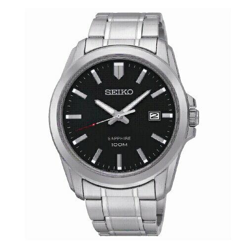 SEIKO經典時尚男腕錶黑面SGEH49P1(7N42-0GD0D)