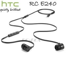 【保固一年】HTC 原廠立體聲線控耳機 RC E240 入耳式免持聽筒 原耳