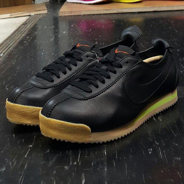 NIKE WMNS CORTEZ '72 黑色 全黑 黑勾 阿甘鞋 皮革 膠底 復古 847126-001