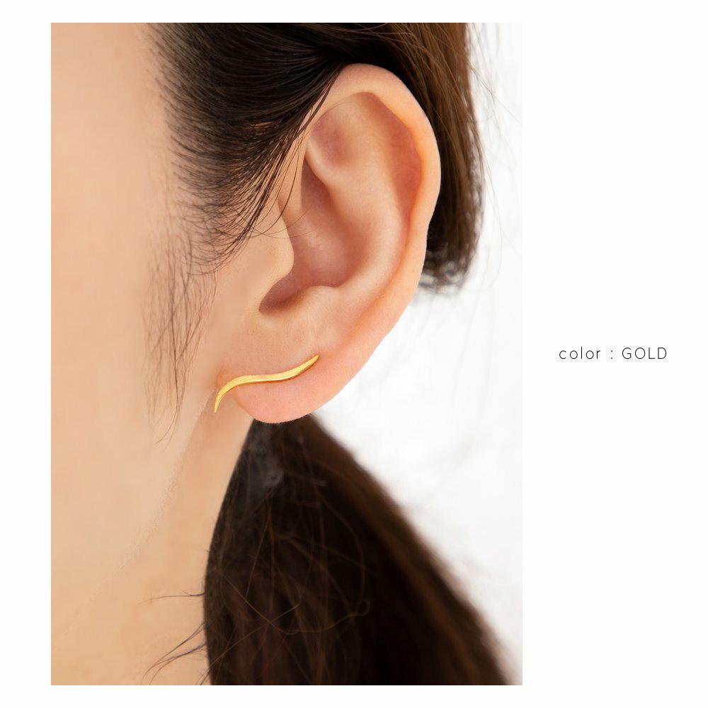 日本Cream Dot  /  經典流線型穿孔耳環  /  p00002  /  日本必買 日本樂天代購  /  件件含運 5