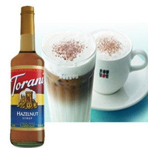 TORANI特朗尼~美國 果露糖漿~榛果~750ml~~良鎂咖啡吧台原物料商~