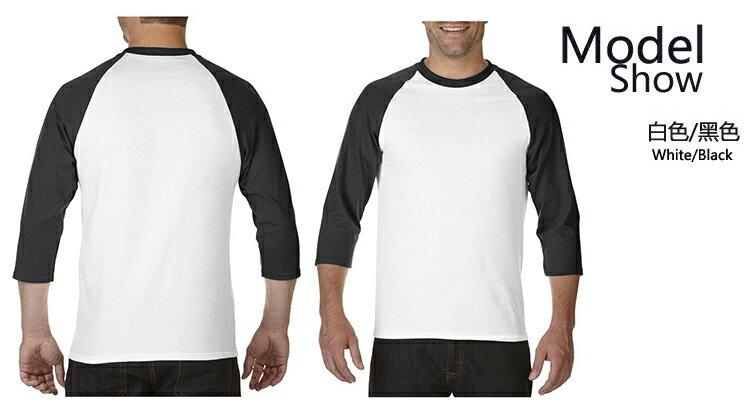【GILDAN】亞規七分袖棒球T恤 76700系列 3