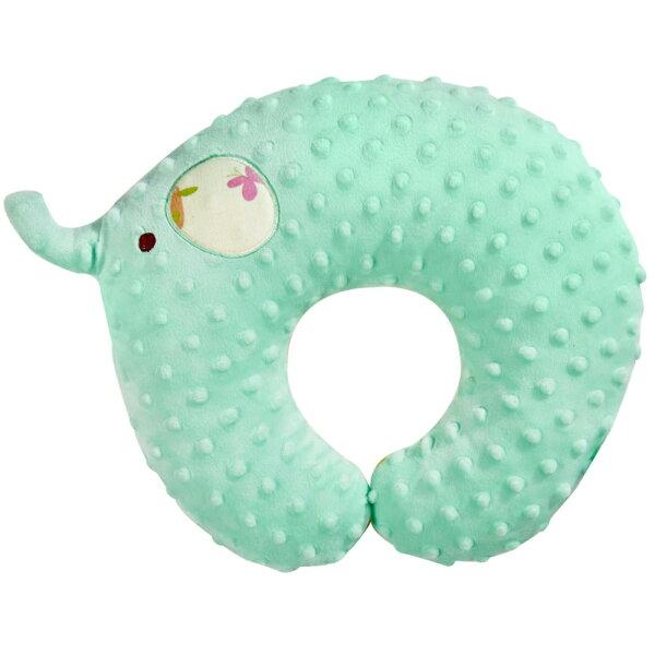 nacnac魔豆旅行幼童護頸枕-大象(蒂芬妮藍)