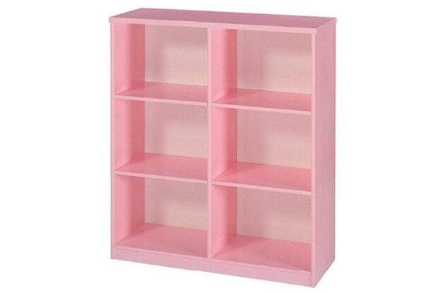 【石川家居】936-06粉紅色書櫃(CT-903)#訂製預購款式#環保塑鋼P無毒防霉易清潔