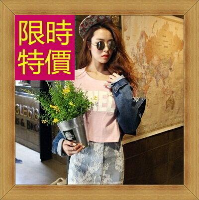 ☆T恤 短袖露肚裝-性感流行純棉質女短版上衣55a18【韓國進口】【米蘭精品】