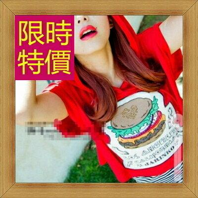 ☆T恤 短袖露肚裝-性感流行純棉質女短版上衣55a29【韓國進口】【米蘭精品】