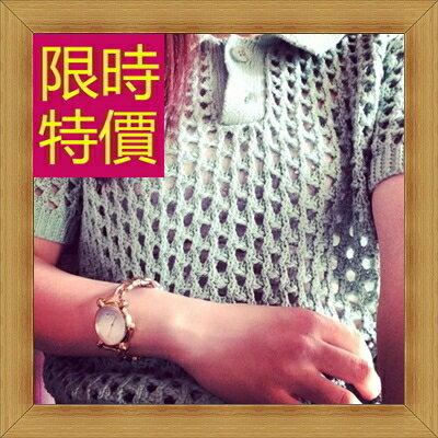 ☆T恤 短袖露肚裝-性感流行純棉質女短版上衣55a37【韓國進口】【米蘭精品】