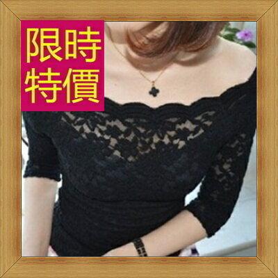 ☆T恤 短袖露肩裝-性感流行純棉質女短版上衣55a96【韓國進口】【米蘭精品】