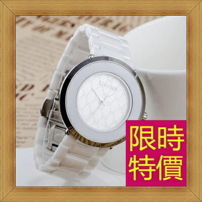 陶瓷錶 男女手錶(單支) -流行時尚經典高貴情侶款腕錶4色55j12【韓國進口】【米蘭精品】