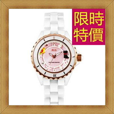 陶瓷錶 女手錶~ 優雅女腕錶2色55j42~韓國 ~~米蘭 ~