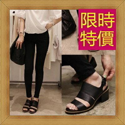 涼鞋 高跟休閒鞋-優雅氣質流行時尚女鞋子56l11【韓國進口】【米蘭精品】