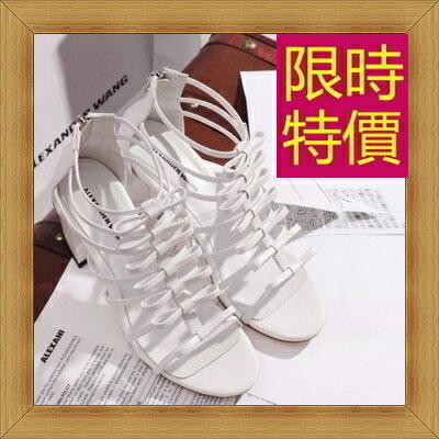 涼鞋 高跟休閒鞋-優雅氣質流行時尚女鞋子56l17【韓國進口】【米蘭精品】
