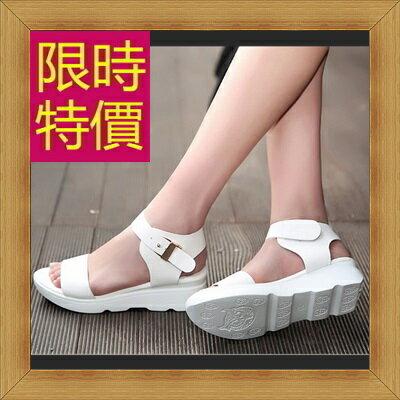 涼鞋 平底鞋-優雅氣質流行時尚女休閒鞋3色56l23【韓國進口】【米蘭精品】