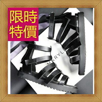 涼鞋 平底鞋-優雅氣質流行時尚女休閒鞋56l32【韓國進口】【米蘭精品】