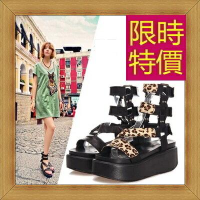 涼鞋 平底鞋-優雅氣質流行時尚女休閒鞋56l4【韓國進口】【米蘭精品】