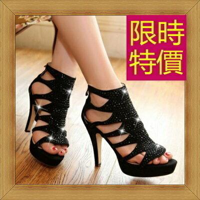 ☆涼鞋高跟休閒鞋-優雅氣質流行時尚女鞋子14色56l45【韓國進口】【米蘭精品】