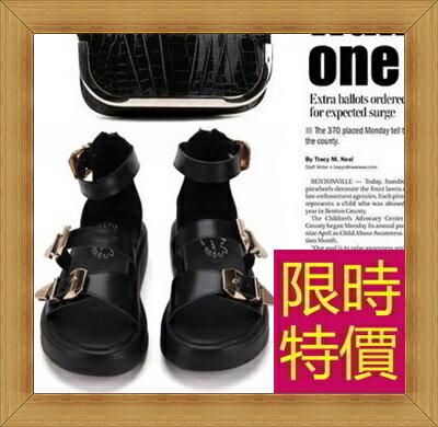 涼鞋 平底鞋-優雅氣質流行時尚女休閒鞋2色56l59【韓國進口】【米蘭精品】