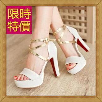 ☆涼鞋高跟休閒鞋-優雅氣質流行時尚女鞋子56l66【韓國進口】【米蘭精品】
