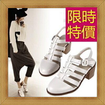 ☆涼鞋高跟休閒鞋-優雅氣質流行時尚女鞋子3色56l7【韓國進口】【米蘭精品】