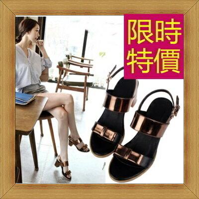 涼鞋 高跟休閒鞋-優雅氣質流行時尚女鞋子4色56l9【韓國進口】【米蘭精品】