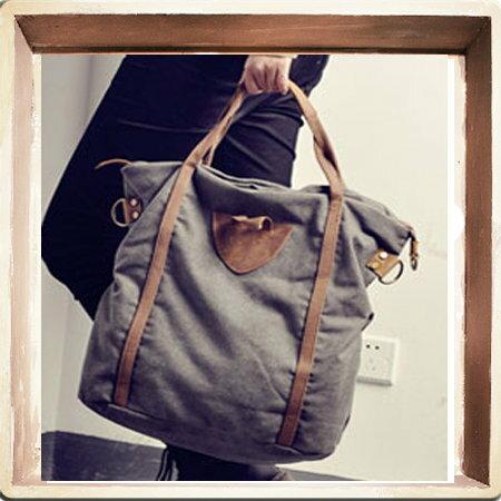 帆布包 手提包-流行時尚個性真皮男女側背包3色5b21 【義大利進口】【米蘭精品】