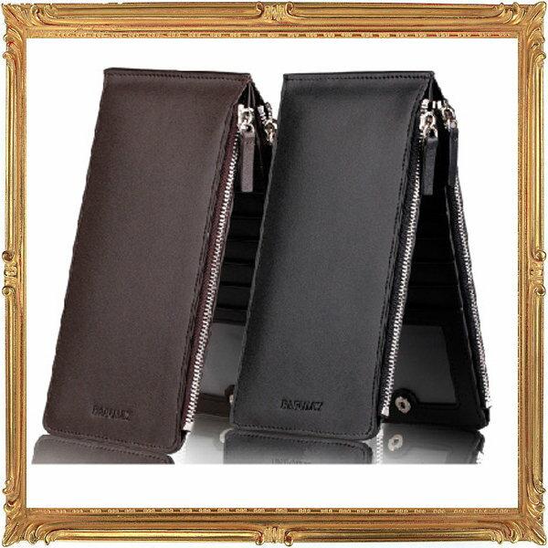 長夾 真皮皮夾-流行時尚經典個性商務男證件夾2色5p20【義大利進口】【米蘭精品】