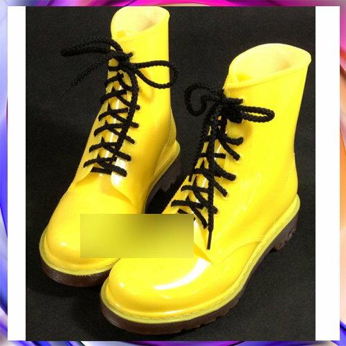 ~中筒雨靴雨具~防水防滑 男女雨鞋6色5s27~韓國 ~~米蘭 ~